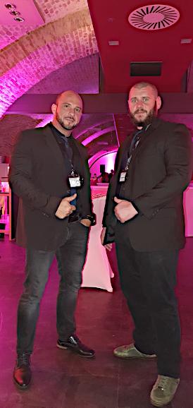 CSS Sicherheits -unsere Teammitglieder bei einer privaten Veranstaltung
